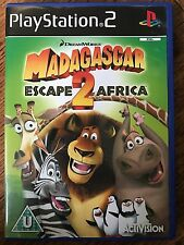 Sony PlayStation 2 - DREAMWORKS MADAGASCAR 2 ~ PS2 Game Based on Film