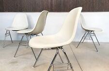 4x DSS Fiberglass & Skai Chairs CHARLES & RAY EAMES Stühle HERMAN MILLER | 1950s