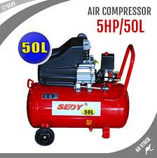5HP Industrial Air Compressor 50L Tank 8 Bar Strong Power 2850RPM 180L/min