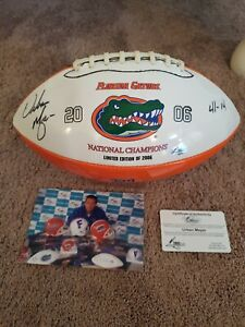Urban Meyer Autographed Football 2006 National Championship
