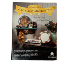 Tole & Decorative Painting Book 1 Priscilla Hauser 1993 Step By Step Paint Book