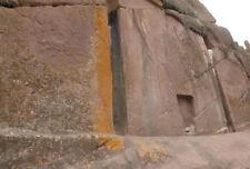 Enmarcado impresión Puerta de los dioses Lago Titicaca Perú (arte antiguo Aliens Foto)