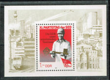 Briefmarken mit Eisenbahn-Motiven aus der DDR