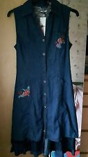 bnwt joe browns denim corset dress size 12/14