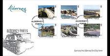 Alderney 2015  Forten   FDC