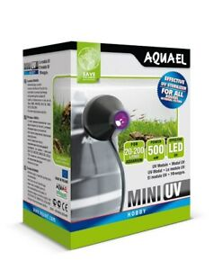 AQUAEL Mini UV Sterilisator Aquarium Wasserklärer LED Lampe UV - Beleuchtung