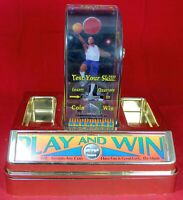 "Trade Stimulator POS ""Play And Win"" Basketball Countertop Quarter Game - Bar"