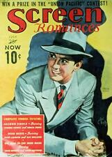 TYRONE POWER Movie POSTER 27x40 Screen Romances Magazine Cover 1930's Tyrone