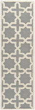 Safavieh Cambridge SILVER / IVORY Wool Runner 2'-6 x 8' - CAM125D-28