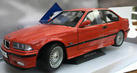 SOLIDO 1803904 BMW M3 E36 diecast model road car red body 1994 1:18th scale