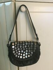 Fossil Fifty-four purse black with studs