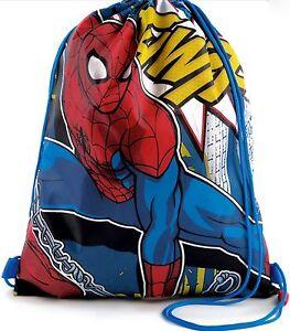 MARVEL ULTIMATE SPIDERMAN TRAINER BAG SHOES SPORTS SCHOOL PE KIT BEDROOM TOYS