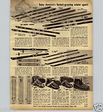 1967 ADVERT Hedlund Snow Skis Golden Arrow Royal Crestmark Champion Toboggans Overig
