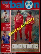 DON BALON 344 SELECCION ESPAÑA - REAL MADRID - STANDARD DE LIEJA - F.C.BARCELONA