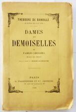 Théodore de Banville Dames et demoiselles 1886 EO 1/10 sur Chine