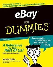 eBay For Dummies (For Dummies (Computers)) by Collier, Marsha, Good Book