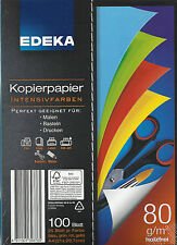 Kopierpapier Intensivfarben Drucken Malen Basteln 4 x 25 Blatt