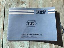 Shimano Sr Bicycle Service Bicycle Parts Dealer Guide Manual Printed In japan