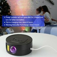 LED Starry Night Sky Galaxy Projector Lamp Star Light Decor USB rechargeable NEW