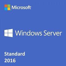Windows Server Standard 2016 clave + Link De Descarga