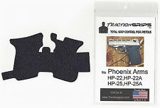 Tractiongrips rubber grip tape for Phoenix Arms HP-22, HP-25, HP22, HP25