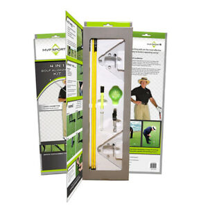 New David Leadbetter MVP Sport 4 in 1 Golf Alignment Kit INSTANT RESULTS