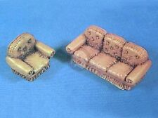 Verlinden 1/35 Living Room Furniture (Sofa and Single Seater Chair) Trophy 20044