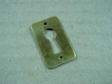 Schlüssellochblende,Schlüssellochschild,Messingschild,Schlüsselschild Messing.