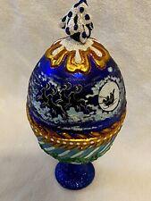 Santa's Sleigh Egg By Slavic Treasures Numbered Edition