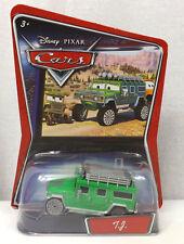 💥NEW Disney Pixar CARS Movie 1 55 Die Cast Car TJ the Green Hummer 💥