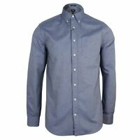 GANT THE OXFORD MENS PERSIAN BLUE LONG SLEEVE SHIRT