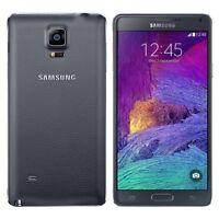 "SAMSUNG GALAXY NOTE 4 SM-910F Desbloqueado Negro 3gb 32gb 5.7"" 4g Lte Smartphone"