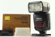 [N Mint in Box] Nikon SB-800 Speedlight  Flash + SD-800 AA Holder from JAPAN