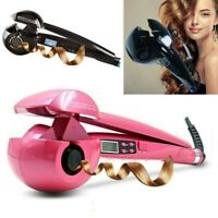 PRO Perfect LCD Automatic Anion Hair Curler Curling iron Roller Styling UK