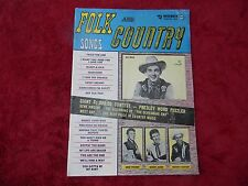 1956 COUNTRY SONG ROUNDUP  Nov. Vol 1 No. 3 Ray Price, Gene Vincent, Sonny James