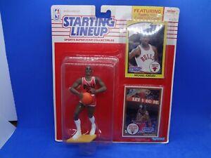 1990 Starting Lineup Basketball Michael Jordan Chicago Bulls Rookie HOF