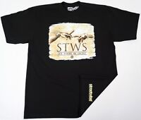 STREETWISE LIT T-shirt Urban Streetwear Tee Adult Men L-4XL Black New