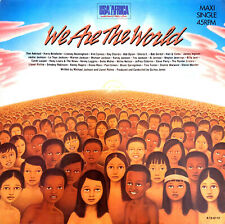 """USA For Africa 12"""" We Are The World - Europe (EX/M)"""