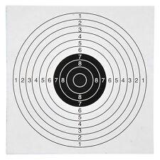 100 Stk. 14x14cm Zielscheiben für Kugelfang Luftgeweht Luftpistole Ziel