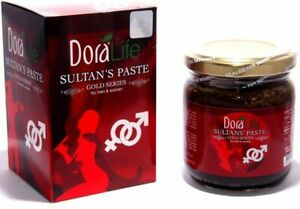 Dora Life Sultan Paste,Gold Series,Aphrodisiac Ottoman MESIR 230g,For Man &Woman