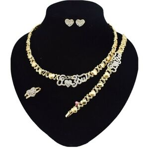 Gold Xo Necklaces Products For Sale Ebay
