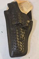 Safariland Blk Basketweave leather MID RIDE DUTY Holster 229-W-11 Ruger Right 4""