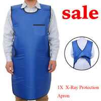 Compact 0.35mmPb X-Ray Protection Apron& Lead Vest Cover Shield Patients Doctors