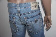 True Religion Men Blue Ricky Straight Denim Jeans MQ2A401MK3 29 X 34 $321