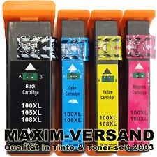 De tinta cartuchos set para Lexmark 100a 105a 108a s402 s405 s408 s502 s605 s608 Ink