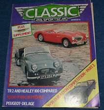 Classic & Sportscar November 1982 Volvo 1800 Coupe, Aston Martin supplement,