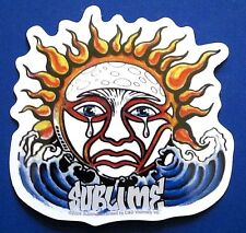 SUBLIME crying sun/waves STICKER **Free Shipping** s-3548 rock ska decal window