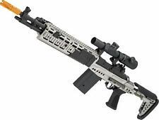 CYMA Full Metal M14 EBR Designated Marksman Rifle Airsoft AEG - Multiple Options
