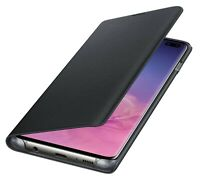 Samsung Galaxy S10+ Plus Schutzhülle LED View Cover Case Flip Tasche EF-NG975