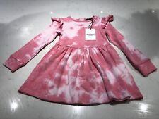 Barsot Junior Girls Long Sleeve Link Tie Dye Dress Size 4 BNWT